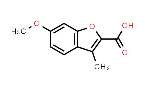 10410-29-4 | 6-Methoxy-3-methyl-1-benzofuran-2-carboxylic acid