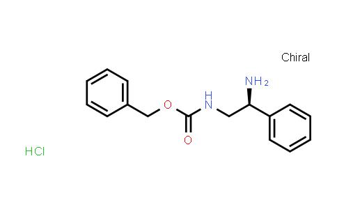 1041016-94-7 | (S)-Benzyl (2-amino-2-phenylethyl)carbamate hydrochloride