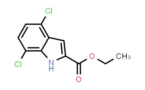 104115-70-0 | Ethyl 4,7-dichloro-1H-indole-2-carboxylate