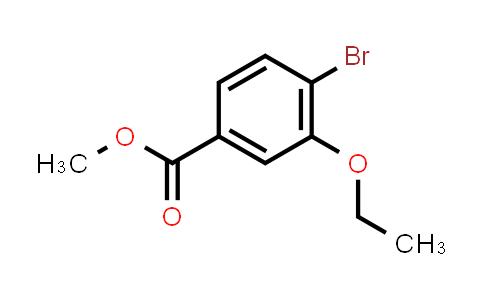 1041205-21-3 | methyl 4-bromo-3-ethoxybenzoate