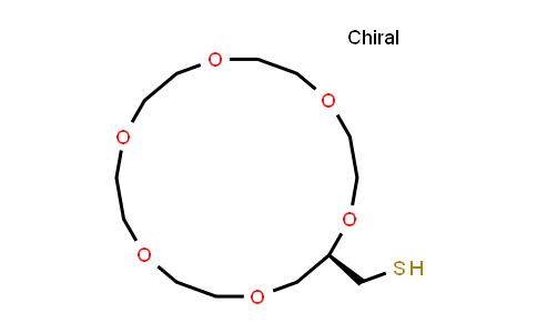 104128-56-5 | (R)-(1,4,7,10,13,16-Hexaoxacyclooctadecan-2-yl)methanethiol