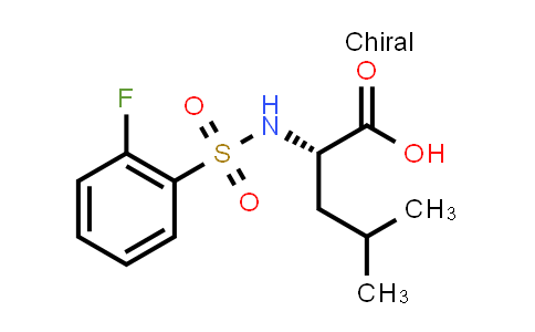1041437-98-2 | ((2-Fluorophenyl)sulfonyl)-L-leucine