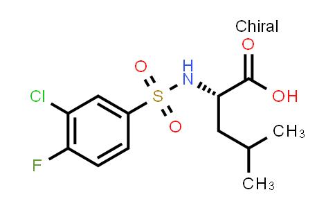 1041437-99-3   ((3-Chloro-4-fluorophenyl)sulfonyl)-L-leucine