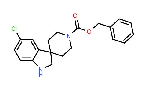 1041704-16-8 | Benzyl 5-chlorospiro[indoline-3,4'-piperidine]-1'-carboxylate