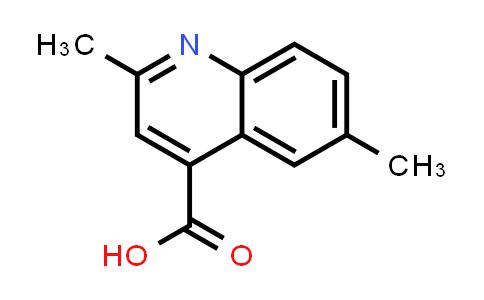 104175-33-9   2,6-Dimethylquinoline-4-carboxylic acid