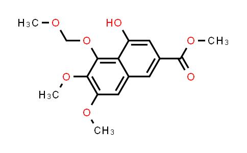 104197-38-8 | 2-Naphthalenecarboxylic acid, 4-hydroxy-6,7-dimethoxy-5-(methoxymethoxy)-, methyl ester