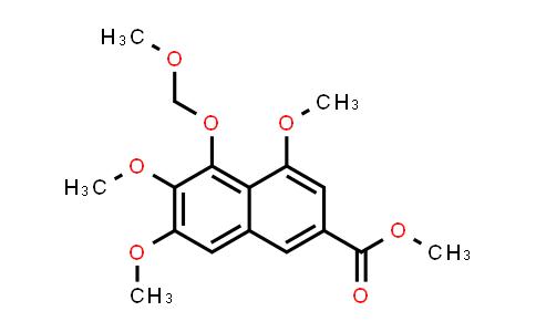 104197-39-9 | 2-Naphthalenecarboxylic acid, 4,6,7-trimethoxy-5-(methoxymethoxy)-, methyl ester