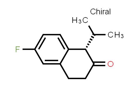 104205-01-8 | (S)-6-fluoro-1-isopropyl-3,4-dihydronaphthalen-2(1H)-one