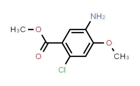 104253-47-6 | Methyl 5-amino-2-chloro-4-methoxybenzoate