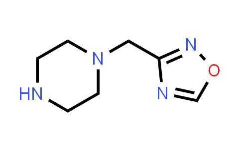 1042795-92-5 | 3-(Piperazin-1-ylmethyl)-1,2,4-oxadiazole