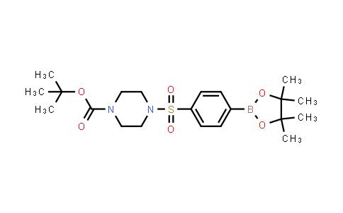 1042917-53-2 | tert-Butyl 4-[4-(tetramethyl-1,3,2-dioxaborolan-2-yl)benzenesulfonyl]piperazine-1-carboxylate