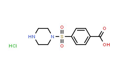 1043554-68-2 | 4-(Piperazin-1-ylsulfonyl)benzoic acid hydrochloride
