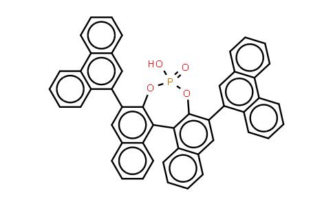 1043567-32-3 | (11bS)-4-Hydroxy-2,6-di(phenanthren-9-yl)dinaphtho[2,1-d:1',2'-f][1,3,2]dioxaphosphepine 4-oxide