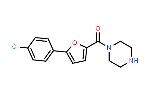 1043687-99-5 | (5-(4-Chlorophenyl)furan-2-yl)(piperazin-1-yl)methanone