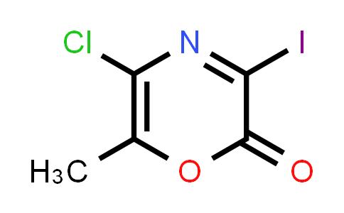 1043870-52-5 | 5-Chloro-3-iodo-6-methyl-2H-1,4-oxazin-2-one