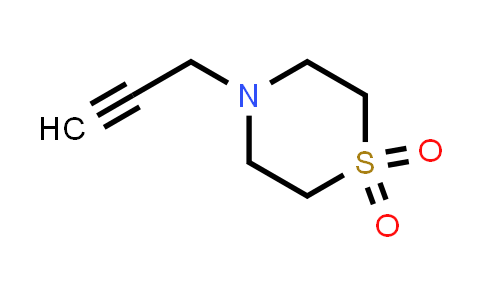 10442-03-2 | 4-(Prop-2-yn-1-yl)thiomorpholine 1,1-dioxide