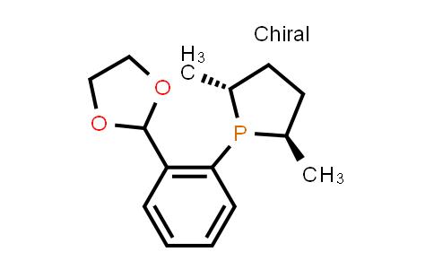 1044256-04-3   (2R,5R)-1-[2-(1,3-Dioxolan-2-yl)phenyl]-2,5-dimethylphospholane