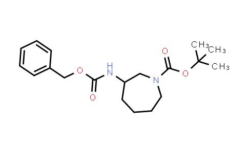 1044561-17-2 | Tert-butyl 3-(benzyloxycarbonylamino)azepane-1-carboxylate