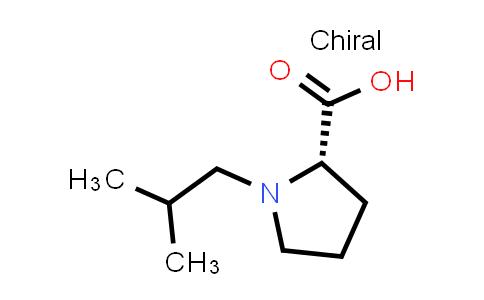 1044637-62-8 | (S)-1-Isobutylpyrrolidine-2-carboxylic acid