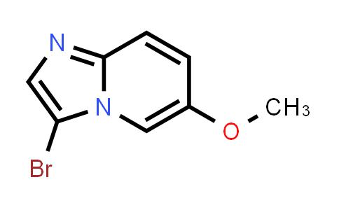 1044733-59-6 | 3-Bromo-6-methoxyimidazo[1,2-a]pyridine