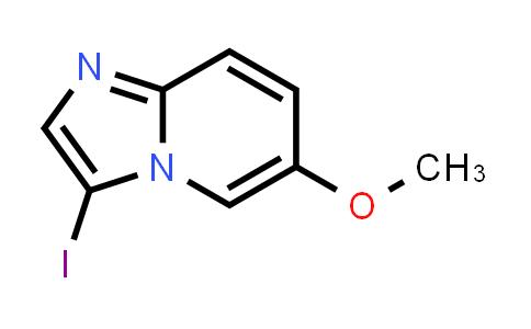 1044733-64-3 | 3-Iodo-6-methoxyimidazo[1,2-a]pyridine