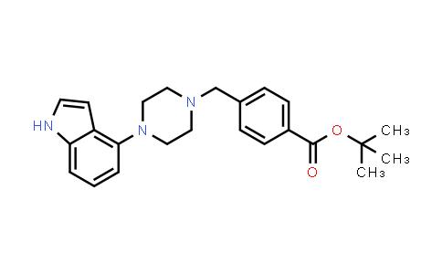 1044764-12-6   tert-Butyl 4-((4-(1H-indol-4-yl)piperazin-1-yl)methyl)benzoate