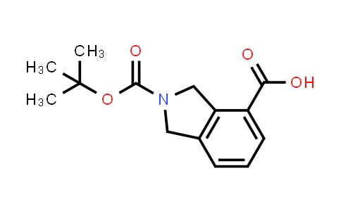 1044764-69-3   2-(tert-Butoxycarbonyl)isoindoline-4-carboxylic acid