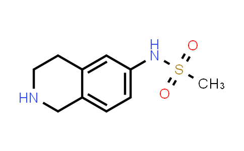 1044766-32-6 | N-(1,2,3,4-Tetrahydroisoquinolin-6-yl)methanesulfonamide