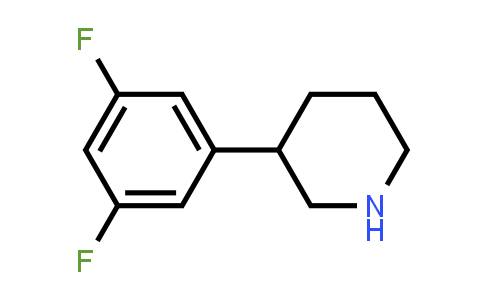 1044768-74-2 | 3-(3,5-difluorophenyl)piperidine