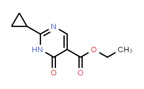 1044770-39-9   Ethyl 2-cyclopropyl-6-oxo-1,6-dihydropyrimidine-5-carboxylate