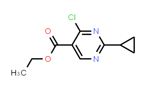 1044770-40-2   Ethyl 4-chloro-2-cyclopropylpyrimidine-5-carboxylate