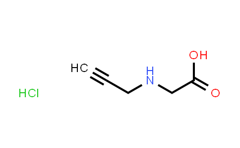 104501-33-9 | 2-[(Prop-2-yn-1-yl)amino]acetic acid hydrochloride