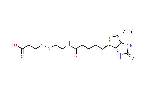 104582-29-8   3-[2-N-(Biotinyl)aminoethyldithio]propanoic Acid