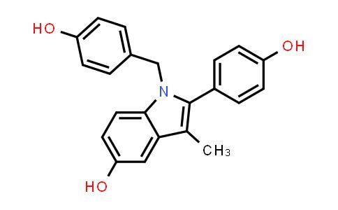 104599-10-2 | 1-(4-Hydroxybenzyl)-2-(4-hydroxyphenyl)-3-methyl-1H-indol-5-ol