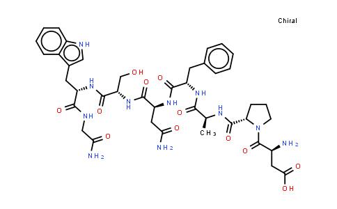 104600-89-7   Leucokinin I