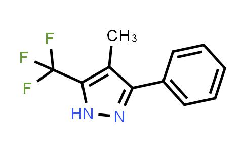 1046463-01-7 | 4-Methyl-3-phenyl-5-(trifluoromethyl)-1H-pyrazole