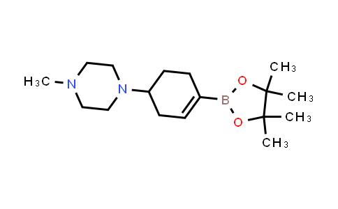 1046793-62-7 | 1-Methyl-4-[4-(tetramethyl-1,3,2-dioxaborolan-2-yl)cyclohex-3-en-1-yl]piperazine