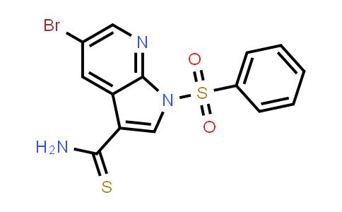 1046793-70-7 | 1H-Pyrrolo[2,3-b]pyridine-3-carbothioamide, 5-bromo-1-(phenylsulfonyl)-