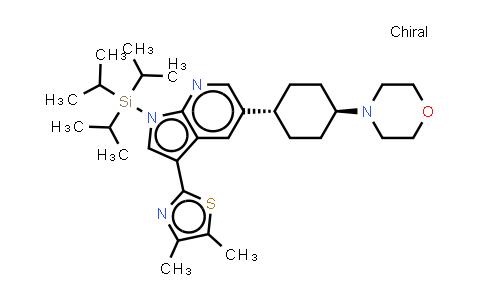 1046794-13-1 | 3-(4,5-dimethylthiazol-2-yl)-5-((1r,4r)-4-morpholinocyclohexyl)-1-(triisopropylsilyl)-1H-pyrrolo[2,3-b]pyridine