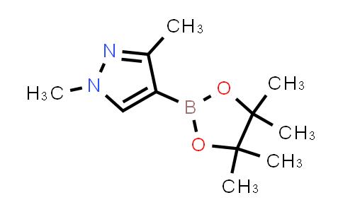 1046832-21-6   1,3-Dimethyl-4-(4,4,5,5-tetramethyl-1,3,2-dioxaborolan-2-yl)-1H-pyrazole