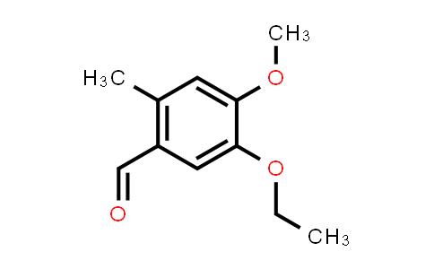 104736-35-8   5-Ethoxy-4-methoxy-2-methylbenzaldehyde
