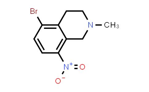 104737-00-0 | 5-Bromo-2-methyl-8-nitro-1,2,3,4-tetrahydroisoquinoline