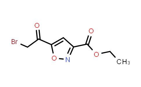 104776-74-1 | Ethyl 5-(2-bromoacetyl)isoxazole-3-carboxylate