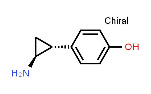 104777-77-7 | 4-[(1R,2S)-rel-2-aminocyclopropyl]phenol
