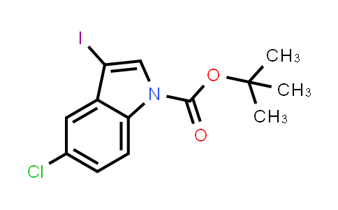 1048039-49-1 | tert-Butyl 5-chloro-3-iodo-1H-indole-1-carboxylate