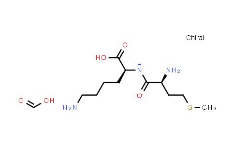 104809-21-4 | (S)-6-Amino-2-((S)-2-amino-4-(methylthio)butanamido)hexanoic acid compound with formic acid (1:1)