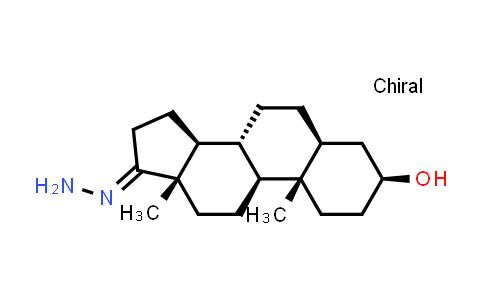 10481-80-8 | (3S,5S,8R,9S,10S,13S,14S,E)-17-hydrazono-10,13-dimethylhexadecahydro-1H-cyclopenta[a]phenanthren-3-ol