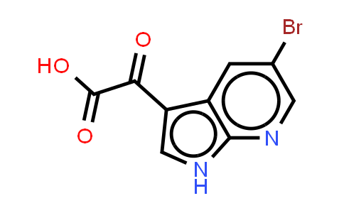 1048350-21-5   1H-Pyrrolo[2,3-b]pyridine-3-acetic acid, 5-bromo-a-oxo-