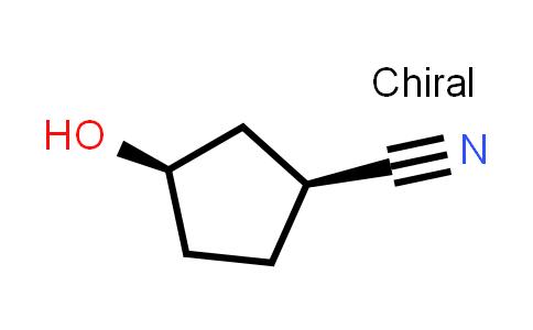 1048668-05-8   (1S,3R)-3-Hydroxycyclopentane-1-carbonitrile