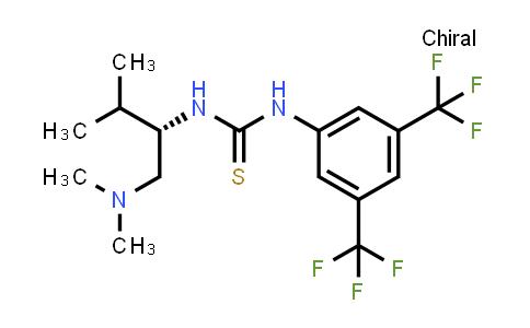 1048692-50-7 | (S)-1-[3,5-Bis(trifluoromethyl)phenyl]-3-[1-(dimethylamino)-3-methylbutan-2-yl]thiourea